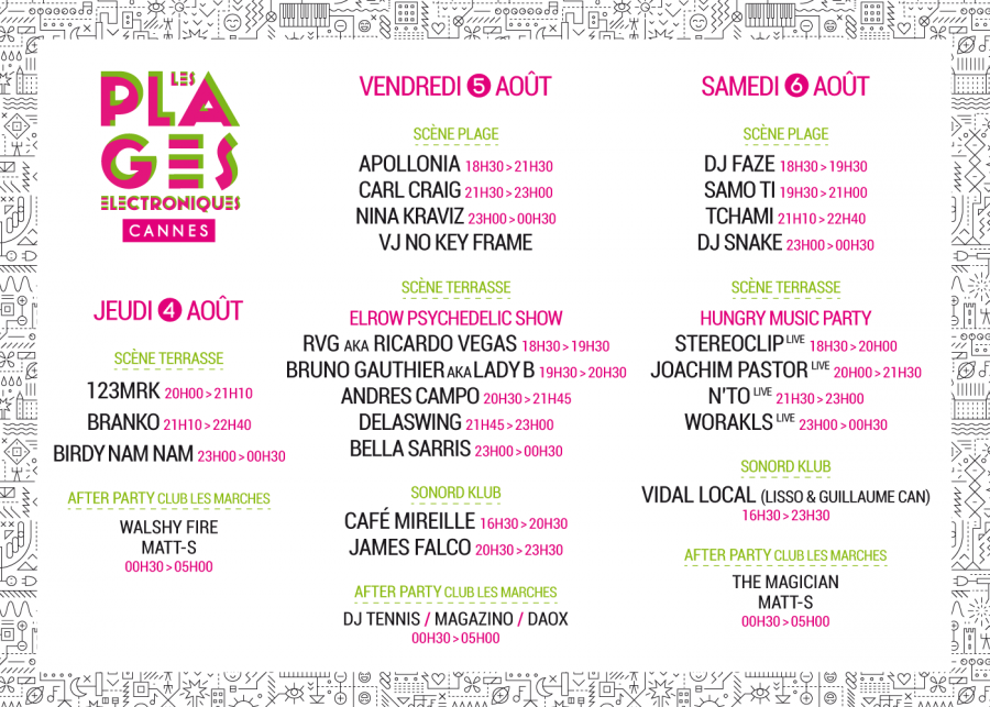 lineup 2016