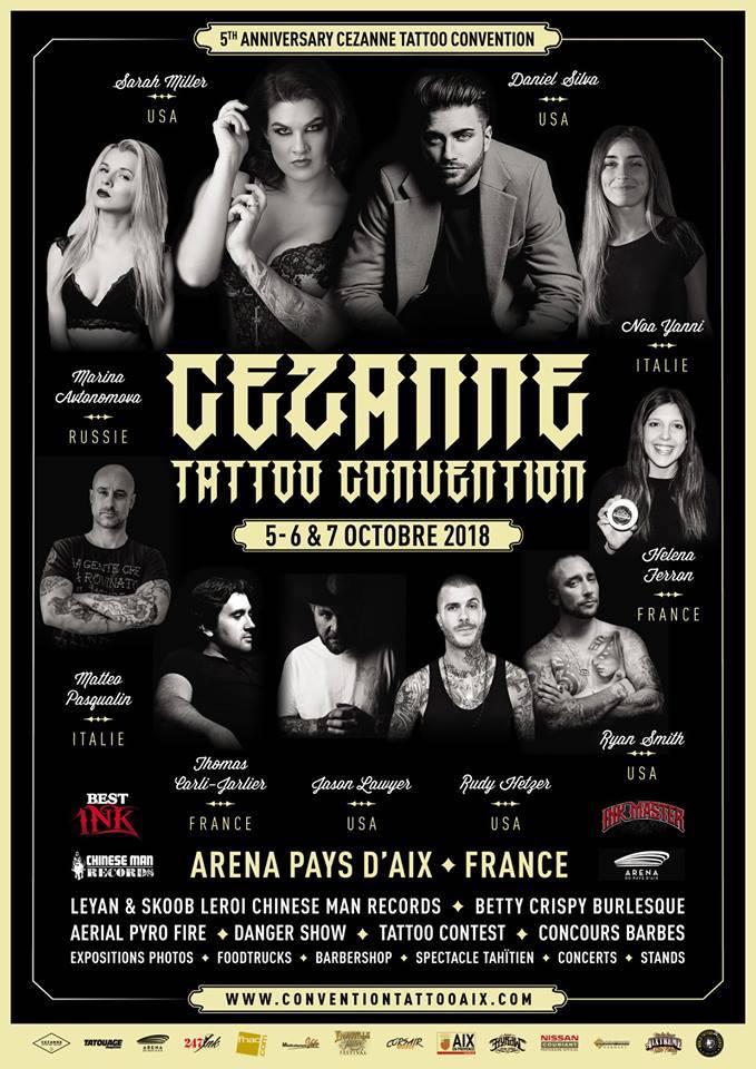 Cezanne Tattoo Convention 2018