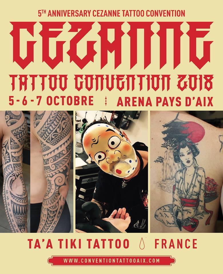 Ta a tiki tattoo Cezanne tattoo convention