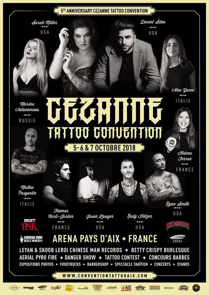 Cezanne Tattoo Convention 2018