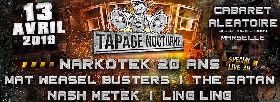 Calendrier Satanique 2019.Tapage Nocturne Cabaret Aleatoire Electroticket Fr